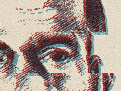 Kane Illustration illustration texture vintage retro t-shirt