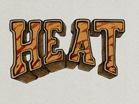 Heat Typography