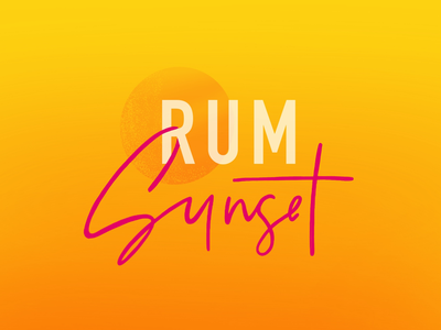 Rum Sunset