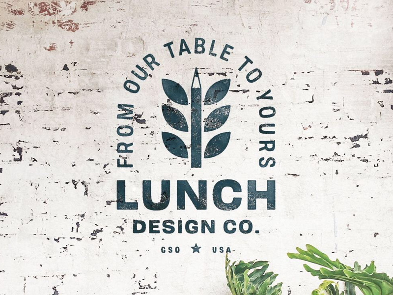 Lunch Design Co. adobe illustration typography graphic design branding brand badge design badge lunchdesignco