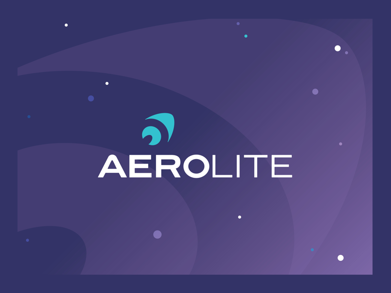 Daily Logo Challenge - Aerolite rocket ship branding identity logo design space lunch design co adobe illustrator daily logo challenge