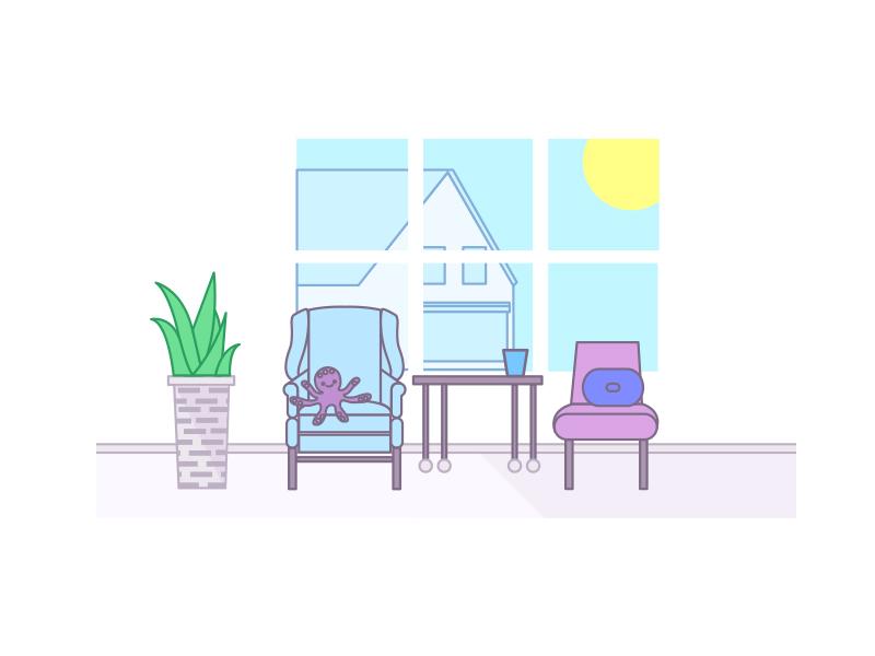 summer living illustration summer