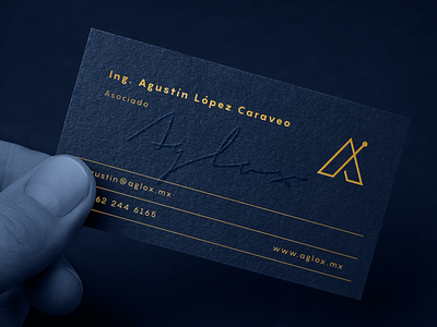 Business Card AGLOX