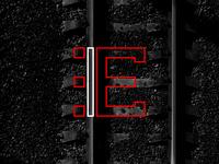 E Rieleros de Empalme - Baseball logo logotype sport sportdesign railroad rail baseball