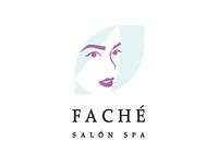 FACHÉ Spa Salon beauty nature logotype logo spa