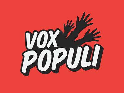 Logo - Vox Populi branding vox populi populi vox game illustrator logo