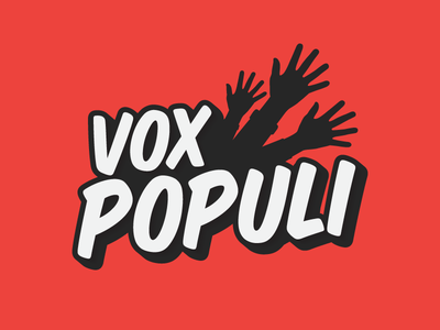 Logo - Vox Populi vox populi populi vox game illustrator logo