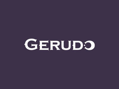 Gerudo branding lettering dark logo gerudo the legend of zelda zelda link hyrule