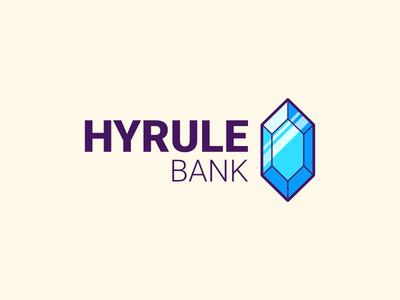 Hyrule Bank rupee bank hyrule link logo the legend of zelda zelda
