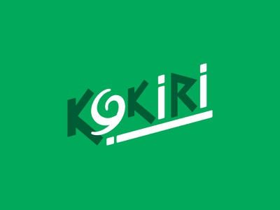 Kokiri branding green kokiri hyrule zelda logo link the legend of zelda