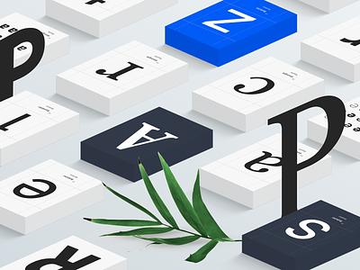 Typography art for Rambler digitalart isometry typeface concept art typogaphy branding