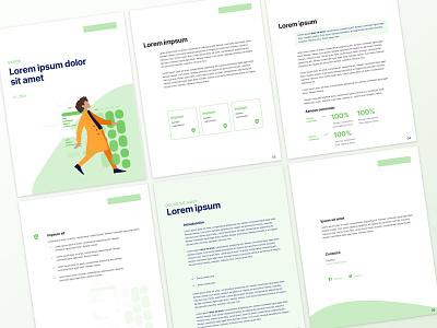 Ebooks Templates editorial design indesign ebook