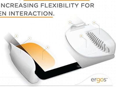 Ergos: Ergonomic Tablet grips (iPad 1)