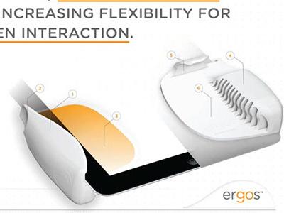 Ergos: Ergonomic Tablet grips (iPad 1)