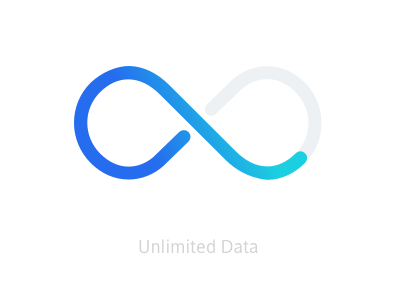 Icon: Unlimited Data xfinitymobile