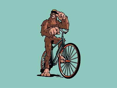 L2D Mascot Exploration branding design big foot creature mythical l2d sasquatch illustration mascot