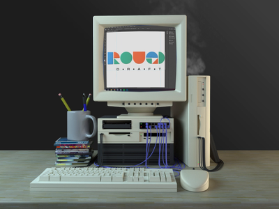 Rough Draft 3D 3d animation cinema4d coronarender chattanooga meetup design 3d