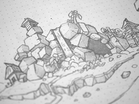 FBI SOS Island Sketches
