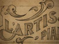 L'Artisan Piano Co Logo