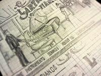L'Artisan Website Sketch