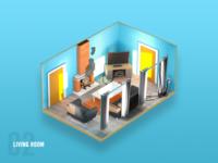 Servpro Prep Game - Living Room