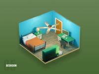 Servpro Prep Game - Bedroom 2