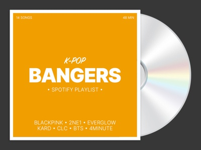 K-Pop Bangers Spotify playlist cover