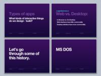History Of UI Design (slides)