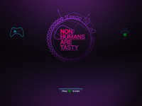 Non Humans Are Tasty: Opening Screen