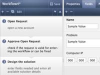UI visual design concept for a ticketing web-app