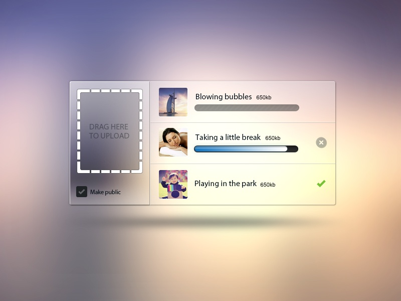 Drag Here To Upload PSD  tags icons widget freebie upload drag file imageuplode