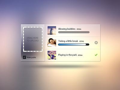 Drag Here To Upload PSD  tags icons widget freebie upload drag file imageuplode