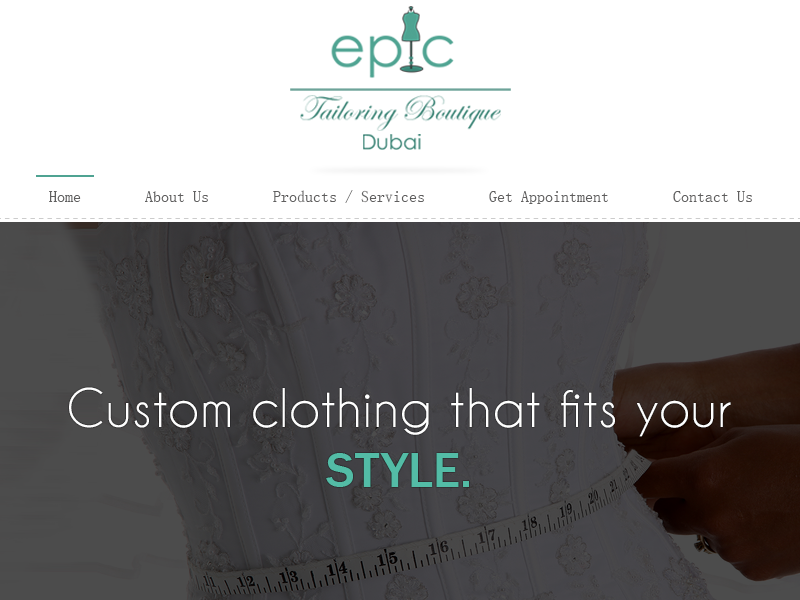 Epic tailoring boutique dubai1