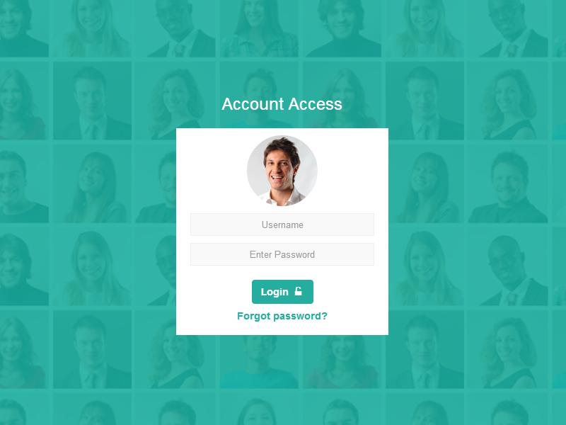 Account Access web web design design boutique tailoring dubai tailoring boutique interface freebie widget icons tags