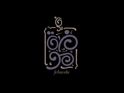 Felmoda logo design grafic designer logo design logo