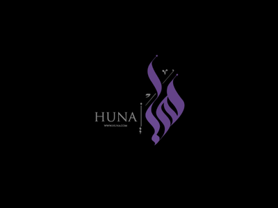 Huna logo design logo branding graphic designer logo design