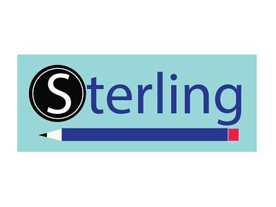 Logo design featuring a pencil vector design branding