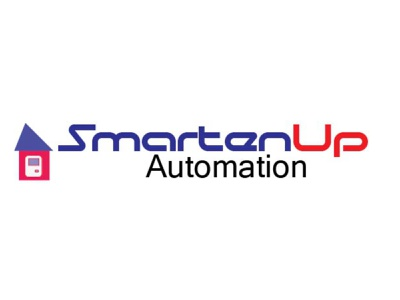Logo for automation company typography vector design branding