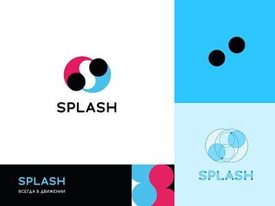 Splash logo logotype logo powerbank graphic design design branding