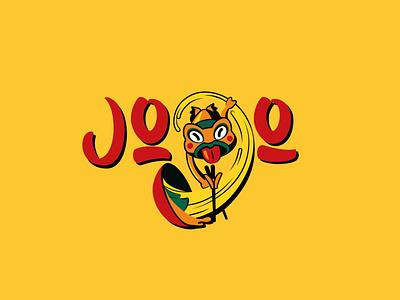 Jojo logo ramen vector illustration logotype logo graphic design design branding