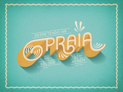 Carnaval Motion Scene lepca diseños smart praia beach carnival carnaval motion lettering