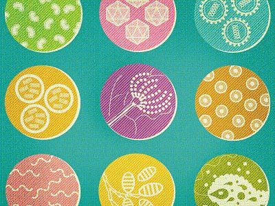 GERM.A.PEDIA scientific illustration microscopic health science illustration