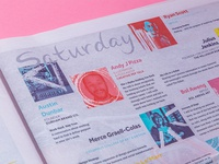 Making Midwest Fest ⌘ Newspaper Program