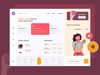 Product Page - Desktop web desktop design product page ui