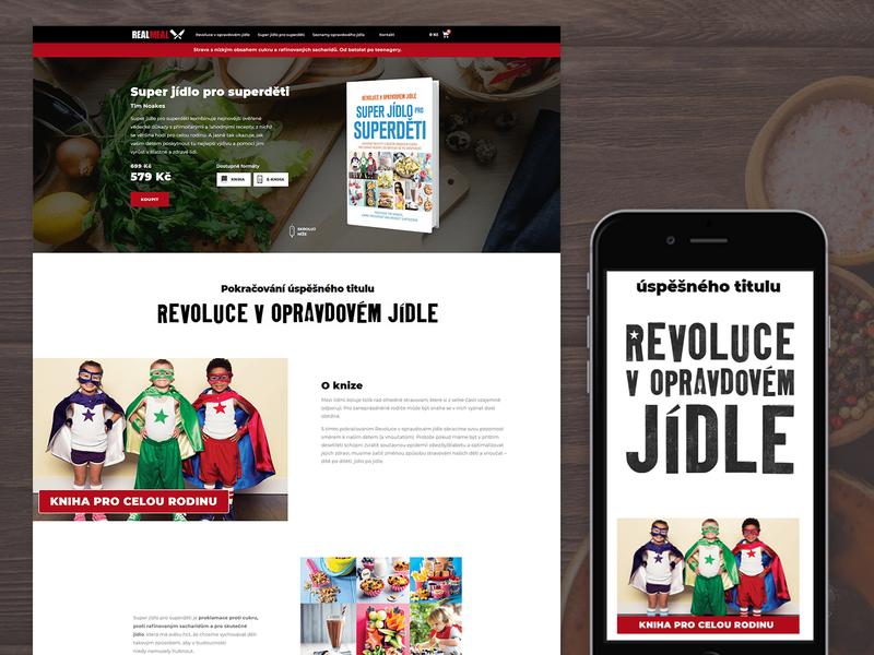 A book landing page: Super Food for Superchildren nutrition health food websitedesign landingpage landing book website ux ui design
