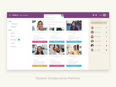 Student Collaboration Platform