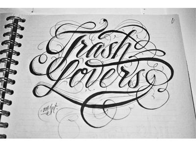 Trash trash sketch