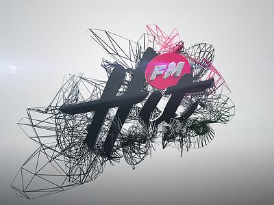 Hit FM | WIP 3d logo logo animation promo radio