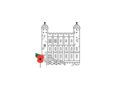 Armistice Day armistice armisticeday toweroflondon poppy