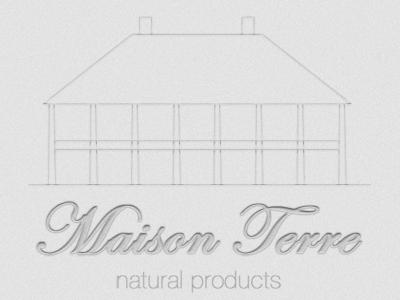 Maison Terre concept branding design photoshop natural